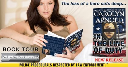 Review Tour: In the Line of Duty by Carolyn Arnold
