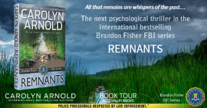 Review Tour: Remnants by Carolyn Arnold