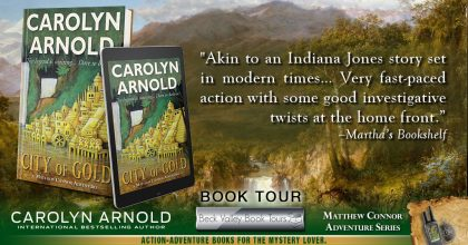 Review Tour: City of Gold by Carolyn Arnold
