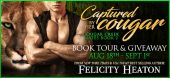 Book Tour and Giveaway: Captured by Her Cougar  by Felicity Heaton